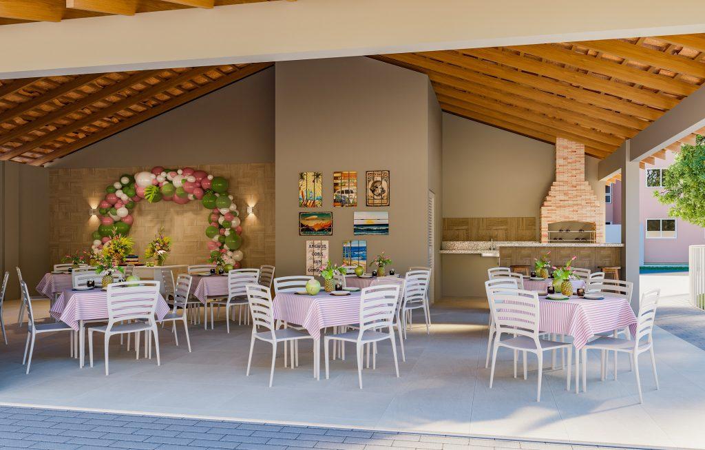 Condomínio com salão de festas em Campos dos Goytacazes - Vista de Campos