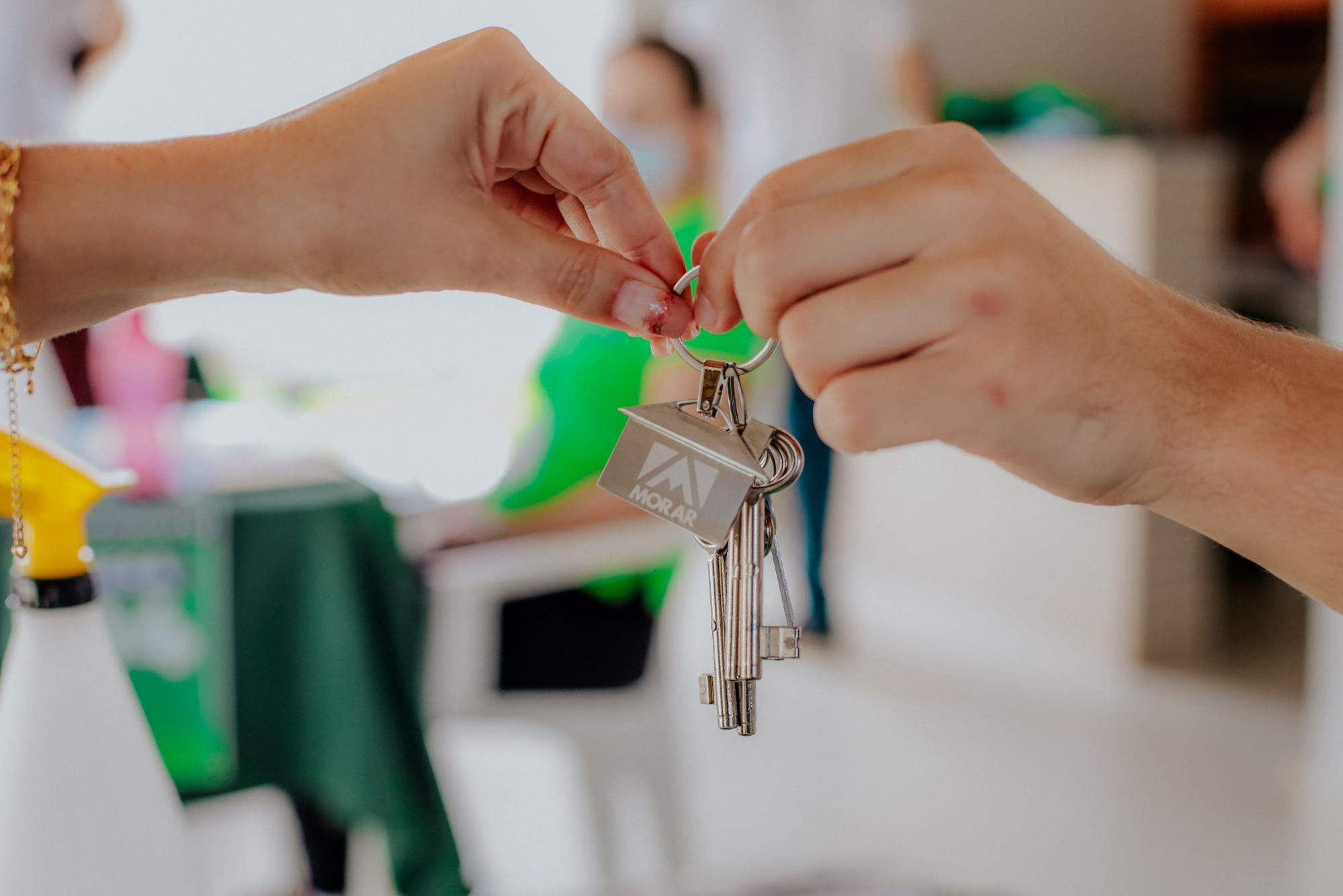 Entrega de chaves